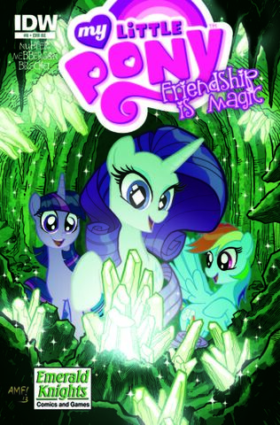 File:MLPFIM 8 Emerald Knights Comics and Games RE Cover.jpg