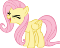 Fluttershy yay First Vector by iCammo.png