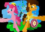 Super Duper Party Ponies by kasiata