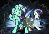 Bon Bon and Lyra-gsphere