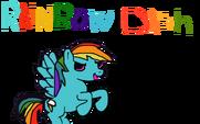 Rainbow Dash by RainbowDashFR