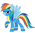 Rainbow Dash finally joins the Wonderbolts.png