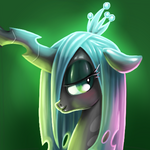 Queen Chrysalis by artist-sharpy