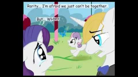 MLP Comic Rarity's Little Problem