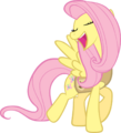 Winter Wrap Up - Fluttershy by Kishmond.png