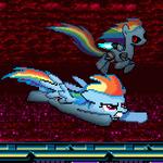 Sonic Rainboom Generations rival battle 1 by darksupasonic