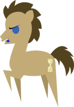 Simple Doctor Whooves Vector by demonreapergirl