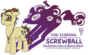 The Turning of the Screwball coverart by WarrenHutch