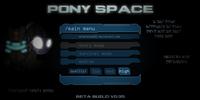 Pony Space