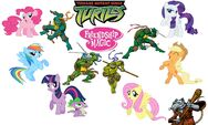 Teenage Mutant Ninja Turtles Friendship is Magic
