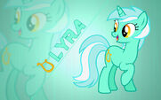 Lyra wallpaper by artist-moongazeponies