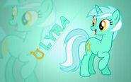 Lyra wallpaper by artist-moongazeponies