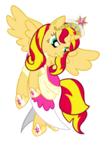 Alicorn Sunset Shimmer by Ilona-the-Sinister
