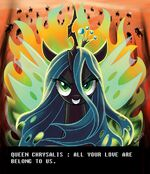 Queen Chrysalis by artist-adlynh