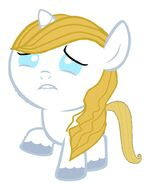 Baby blueblood is sad by 3d4d