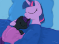 Nyx and Twilight fast asleep by sgtgarand.png