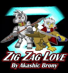 Zig zag love reagle and zaza by kashchung-d6d0k3x