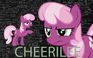 Cheerilee wallpaper by artist-enigmamystere