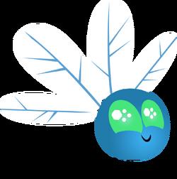 Blue parasprite