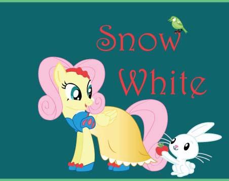 File:Fluttershy in Snow White Costume.jpg