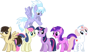 ImperfectXIII's Mane Six