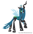 Queen Chrysalis vector picture by artist-blackm3sh.png