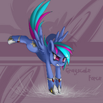 Grayscale Force by StarlightSpark