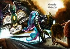 Biker Princess title card 2