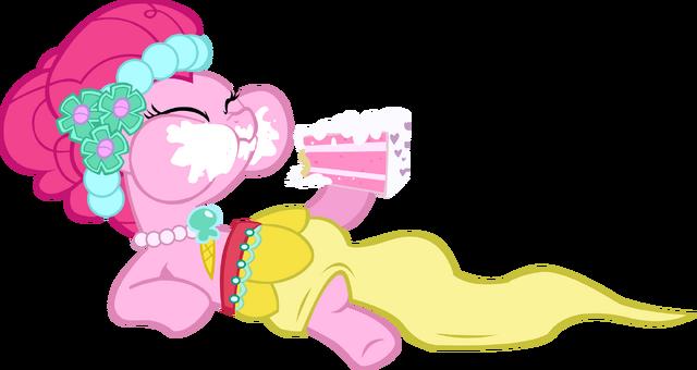 File:Pinkie Pie eating cake.png