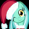 Lyra heartstrings chrismas pony .png