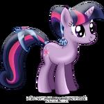 Twilight Sparkle as a Crystal pony