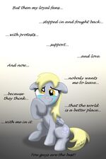 Derpy loves you guys