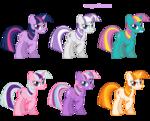 Twilight Sparkle costumes v.1 by artist-pika-robo