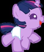 Happy baby twilight sparkle