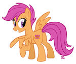 Scootaloo's Butterfly by GlamourKat