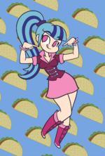 Taco Girl by Khuzang