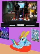 83739 - chris danford kristina proctor piu pro piu pro 2 pump it up rainbow dash tv meme