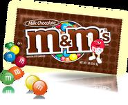 M&ms milk chocolate small pack