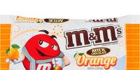 Orange M&M's