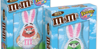 M&M's Solid Chocolate Bunnys