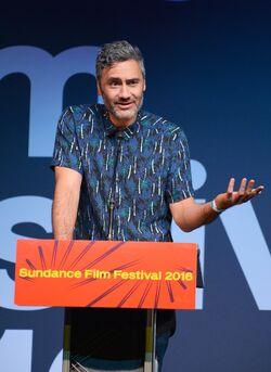 Taika-Waititi-at-the-2016-sundance-film-festival-awards-ceremony