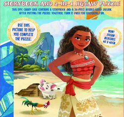 Moana My Adventures at Sea 2-in-1 Jigsaw Set