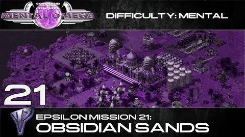 Mental Omega 3.3 Yuri's Epsilon Mission 21 Obsidian Sands
