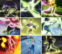 Teruki Hanazawa's psychic stance