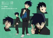 Ritsu design layout