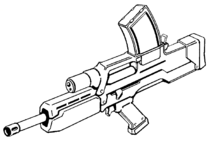 MR-112 Mobile Frame Rifle
