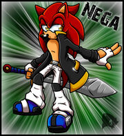 Nega the hedgehog pc by amuzoreh-d3jn27d
