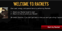 Rackets - How to play