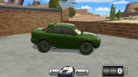 Cars Mater National Hi-Octane Chick's Student 1 animation test