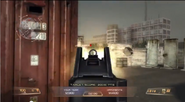 UMP45 Aiming down the sight